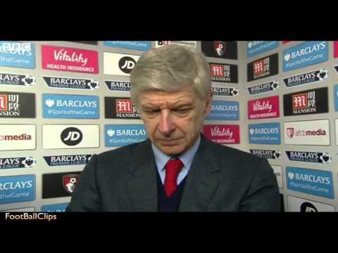 Arsene Wenger's Post Match Interview B.F.C 0-2 Arsenal