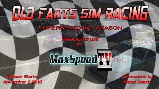 Old Farts Sim Racing League Super Speedway Series @ Daytona