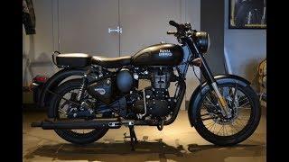 Royal Enfield Stealth Black 500cc BS4 Bike Review | Tech Guru Ansh