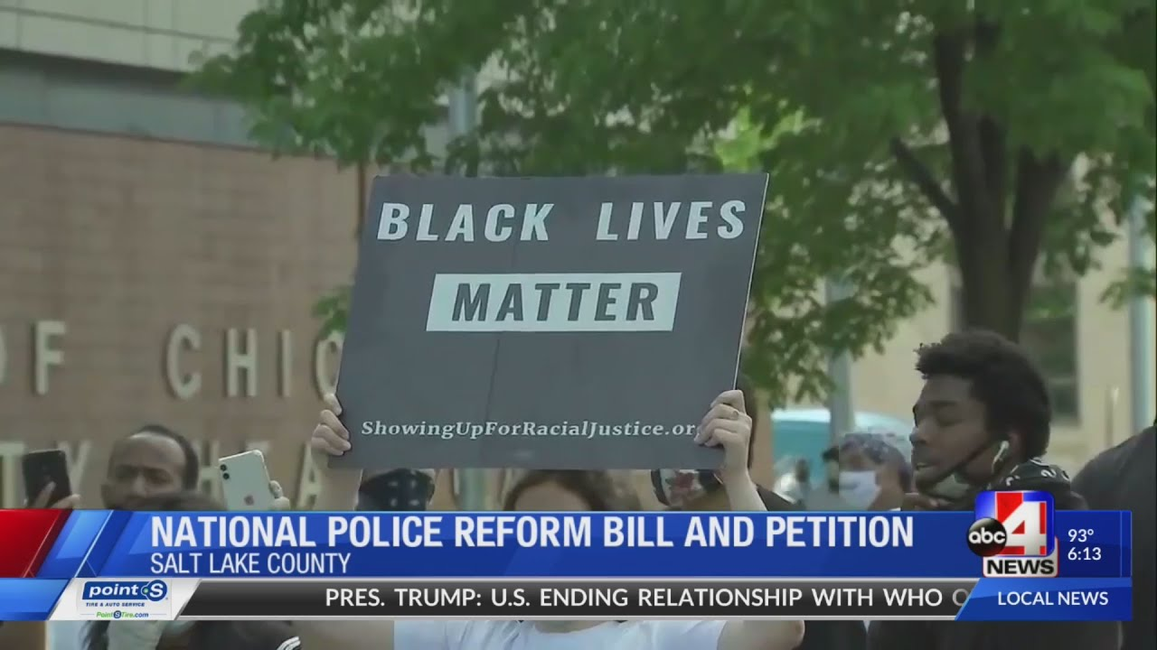 Black Lives Matter Utah drafts national police reform bill after George Floyd's death