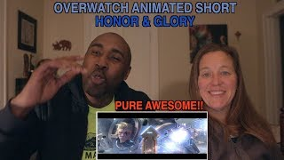 Overwatch Animated Short Honor And Glory - REACTION