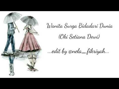 Wanita Surga Bidadari Dunia (lirik) Versi Anime