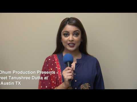 This Valentines Day Dhum Productions Presents Meet and Greet Tanushree Dutta