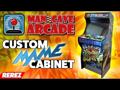 Man Cave Arcade Custom MAME Cabinet Review - Rerez