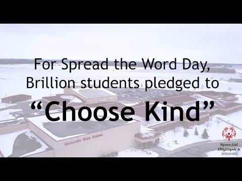 Brillion High School - R Word Day