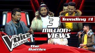 The Battles : Miyuru Somarathne V Thilina Sudesh | Bol Pini Wahena Welawe | The Voice Sri Lanka Thumbnail