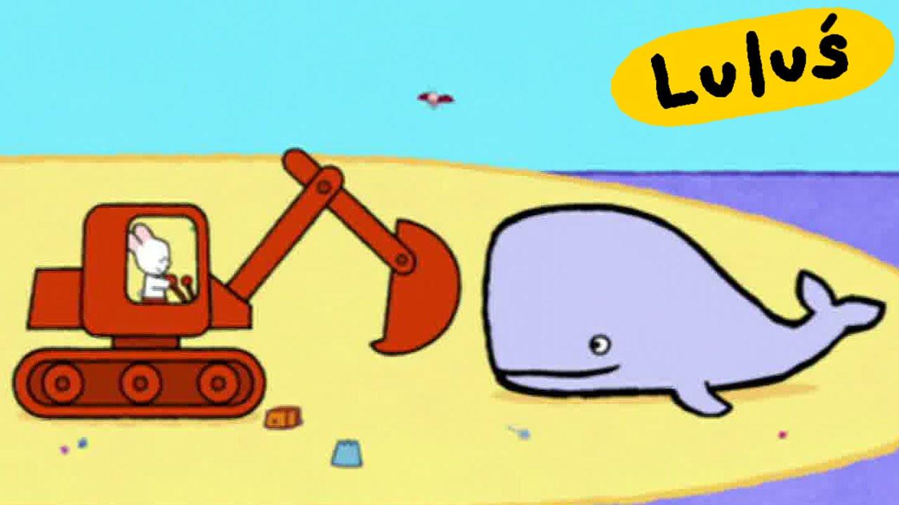 Luluś - Narysuj mi koparkę S03E32 HD // Kreskówki dla dzieci