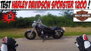 #Moto Vlog 137 : TEST HARLEY DAVIDSON SPORSTER 1200 A2 / RIP CALLE PIED !