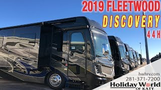 Join JJ and look at check out the 2019 FLEETWOOD DISCOVERY 44H