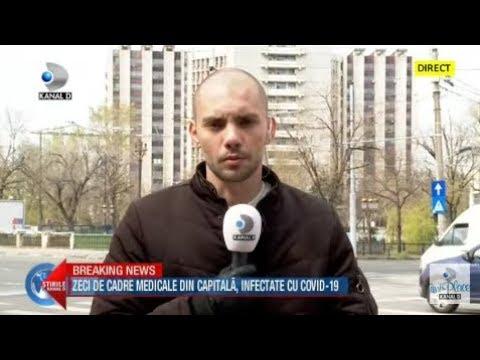 Stirile Kanal D (01.04.2020) - Zeci De Cadre  Medicale Din Capitala, Infectate Cu COVID-19