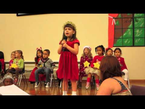 Kristen's Christmas solo - I Will Not Be Scared - Family of Christ Christian School