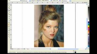 CorelDRAW Видеоурок Изменяем цвет глаз