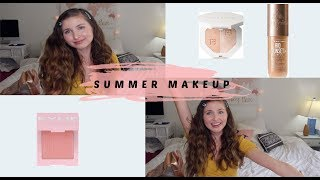 NATURAL SUMMER MAKEUP! (Kylie cosmetics, It Cosmetics, Fenty Beauty)