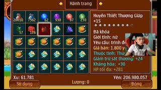 Ninja School Online | Trùm Cuối Mang Tên Vipkoae2 - Đặt Ngưỡng Trùm 7x 5sv