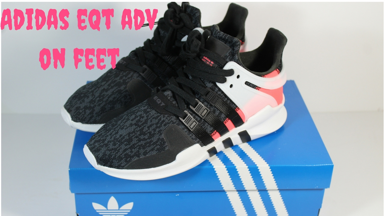 huge selection of 6f98f e97f2 ADIDAS EQT SUPPORT ADV REVIEW + ON FEET