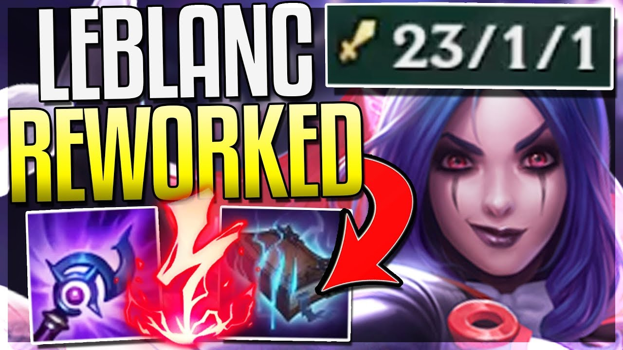 league of legends leblanc nackt