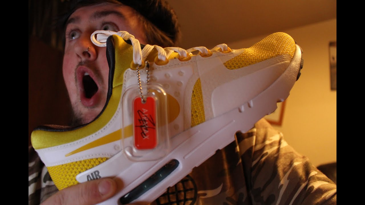 20982c492d9e99 Nike Air Max Zero QS  Yellow  Unboxing and Review - YouTube