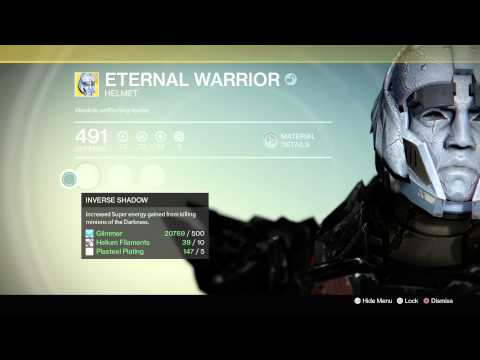 Destiny First Eternal Warrior Helm