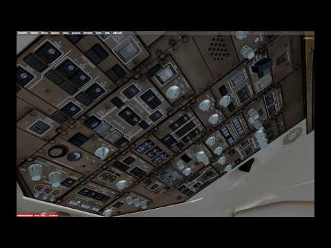 [P3D] Leg 2  - Middle East Tour.  Riyadh Saudi Arabia to Baghdad, Iraq in QW 757