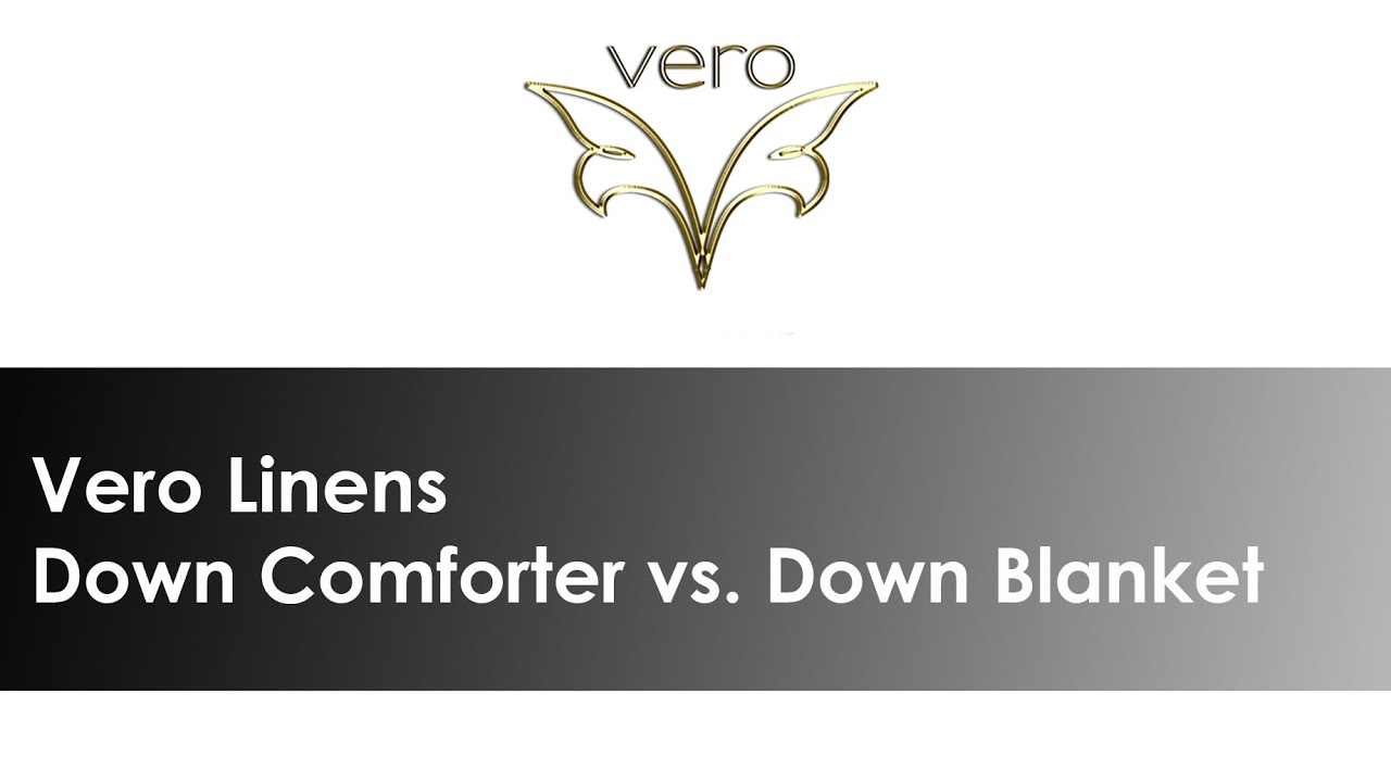 what is the difference between a down comforter down blanket youtube. Black Bedroom Furniture Sets. Home Design Ideas