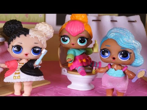 LOL SURPRISE DOLLS Morning Routine, Getting Ready For School!