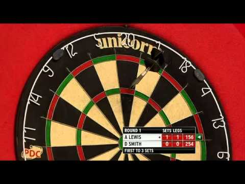 Adrian Lewis vs Dennis Smith - PDC World Darts Championships 2014 First Round