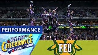 UAAP CDC Season 81: FEU Cheering Squad   Full Performance