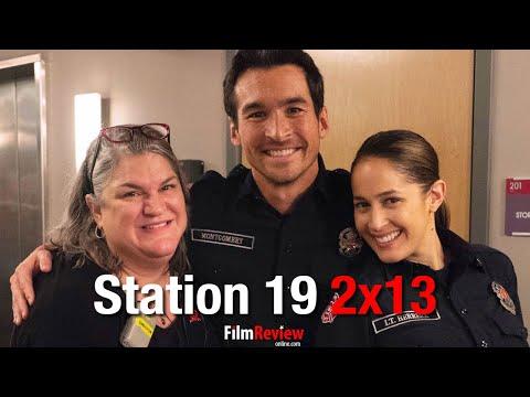 "Station 19 2x13 PICTORIAL Sneak Peek ""The Dark Night"""