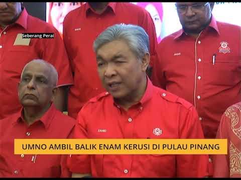 UMNO ambil balik enam kerusi di Pulau Pinang