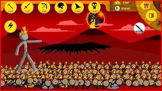 Стикмены против всех  Stick War: Legacy игра про Завоевания От Фаника