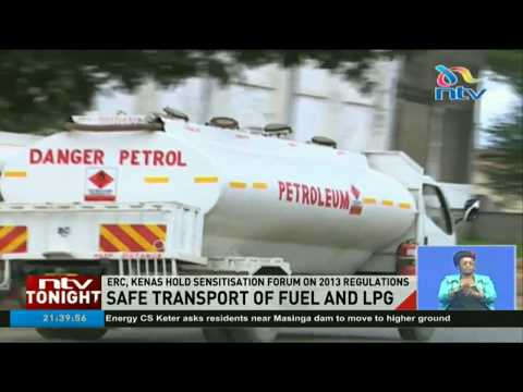 Petroleum Tankers With No License  And Safety Equipment To Be Locked Out Of Kenyan Roads By June