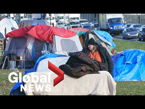Coronavirus pandemic, cold weather concerns for Canadians experiencing homelessness