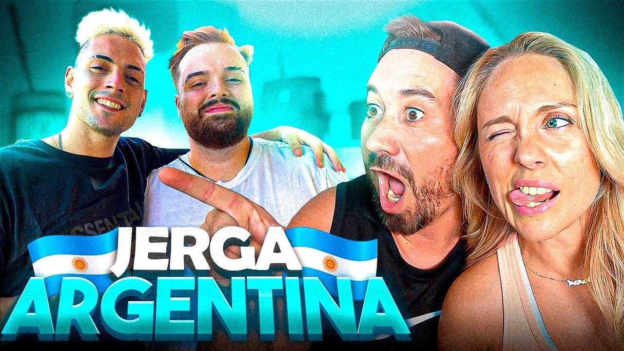 APRENDEMOS JERGA ARGENTINA 🇦🇷 con Ibai y Coscu
