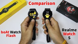 boAt Watch Flash vs Realme Watch S | Full Specs Comparison | Shocking Result | Best Smartwatch