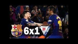 Hasil Liga Spanyol - Barcelona VS Eibar 6-1 - La Liga Spain 20-9-2017