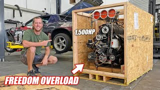 We Bought an INSANE Big Block Blower Engine From Australia!!! Toast Is Getting 1,500+ Horsepower!