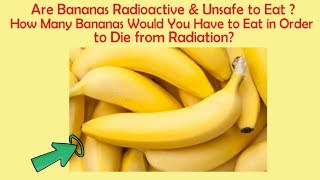 Are Bananas Radioactive & Unsafe to Eat? GK Questions with Answers | Part 19