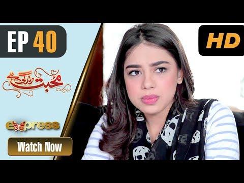 Mohabbat Zindagi Hai - Episode 40 - Express Entertainment Dramas