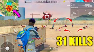 31 Kills Total In Duo vs Squad Trying To Make World Record  - Garena Free Fire @P.K. GAMERS