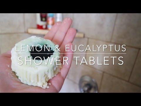 Lemon & Eucalyptus Shower Tablets