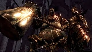 Dark Souls: Ornstein and Smough Boss Fight