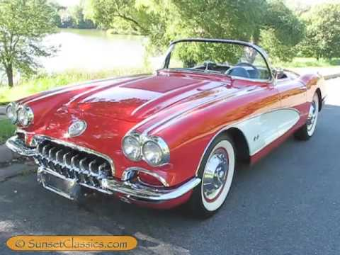 1958 corvette transport video al to fl doovi. Black Bedroom Furniture Sets. Home Design Ideas