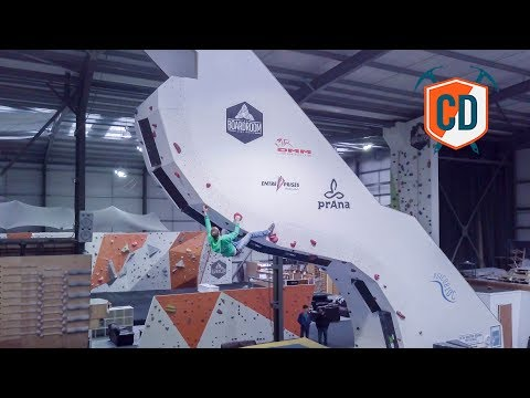 8 Meter High Psicobloc In A Climbing Gym | Climbing Daily Ep.1097