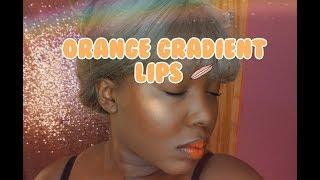 Easy Gradient Korean Lip for Dark skin!