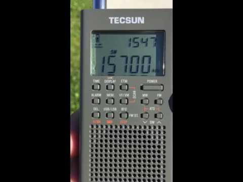 China Radio International - English - 15700 KHZ - 15:00 UTC