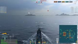 World of warships - Ranked battles A GOOD BB SUPPORT