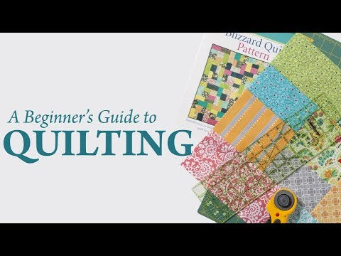 A Beginner's Guide to Quilting - YouTube : beginners guide to quilting - Adamdwight.com