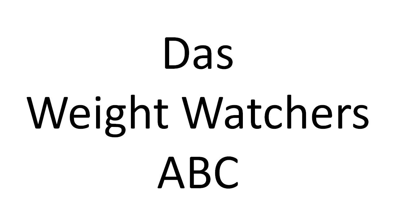 Weight watchers online auch zum treffen