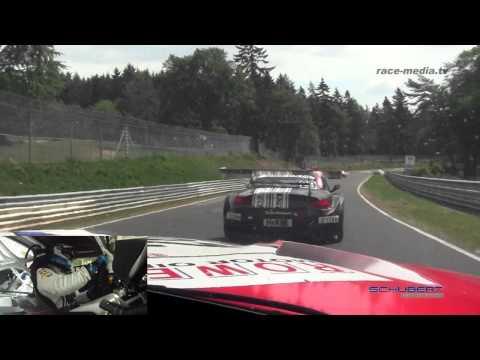 Schubert Motorsport BMW Z4 GT3 Onboard 2 Laps VLN 4. Lauf 2011 Nürburgring Nordschleife