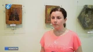 В художественном музее г. Горловки продолжается выставка икон «Нестареющие лики»